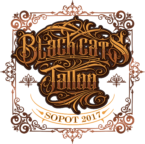 Black Cats Tattoo Logo